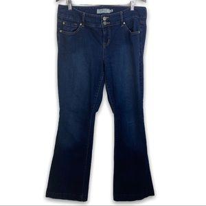 TORRID Dark Wash Bootcut Jeans, 14